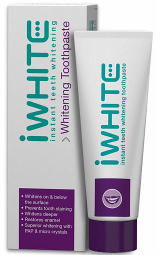 Picture of I-White Toothpaste   Whitening Toothpaste   75ml