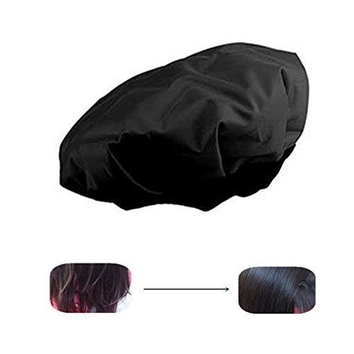 Picture of Locisne DIY Thermal Hair Heat Cap Microwavable Micro Hair Conditioning Hat Spa