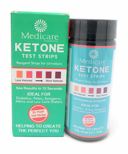 Picture of Ketone Test Strips Effectively and Accurately Keto Test for a Low Carb Ketogenic