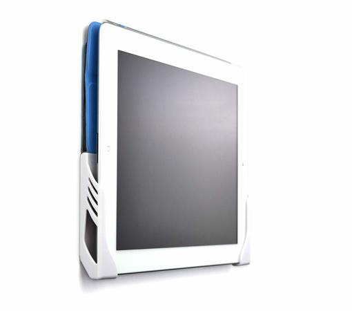 Picture of Koala iPad Mini - Mini 2 Wall Mount Dock by Dockem -(chrome-plated plastic