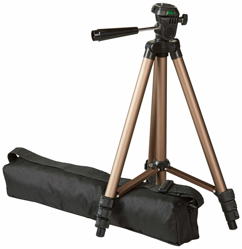 """Picture of AmazonBasics 127cm 50"""" Lightweight Tripod with Bag"""
