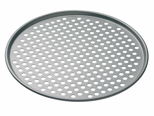 Picture of KitchenCraft MasterClass Non Stick Pizza Crisper Tray for Oven - 32 cm
