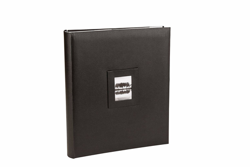Picture of Kenro Savoy Series Black Faux Leather Photo Album for 300 Photos 6x4 inch / or