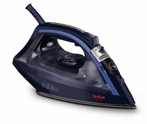 Picture of Tefal Virtuo FV1713 Steam Iron - 2000 Watt - Black/Dress Blue