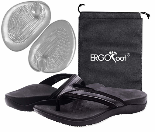 Picture of ERGOfoot Flip Flops with Arch Support Men's Orthotic Comfort Casual Slippers