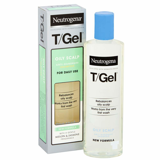 Picture of Neutrogena T/Gel Shampoo for Greasy Hair 250 ml Anti dandruff for Greasy hair