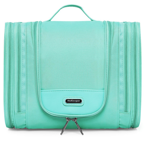 Picture of Heavy Duty Waterproof Hanging Toiletry Bag - Travel Cosmetic Makeup Bag for