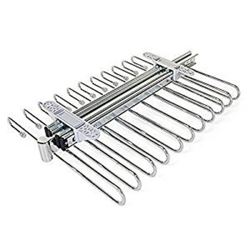 Picture of Emuca 7086411 Wardrobe pull out holder sliding hanger rail