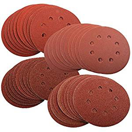 Picture of 40 x Mixed Grit Sanding Discs for Bosch PEX 220/300