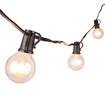 Picture of SoBrite 10 Solar Powered Festoon Globe Retro BULB Lights with 10 LEDs (White LED)