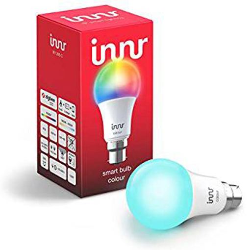 Picture of Innr Smart Bulb Colour B22, Works with Philips Hue