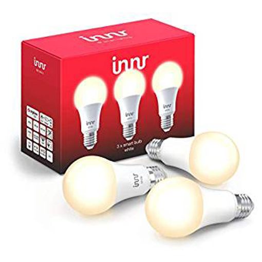 Picture of Innr Smart LED Bulb E27 White, Works with Philips Hue
