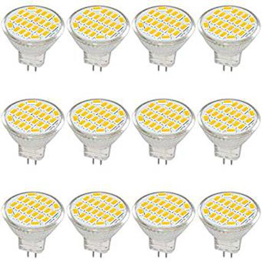 Picture of LED Bulb Light Lights DC/AC 12V, 3W, 30W Halogen Bulb Equiva
