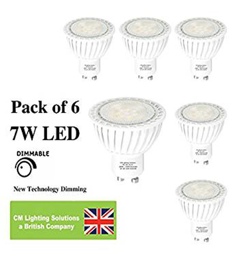 Picture of 7W DIMMABLE LED GU10 Spotlight Bulb lamp