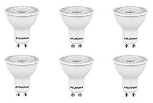 Picture of 6x Sylvania RefLED ES50 V4 5W GU10 LED dimmable light bulb l