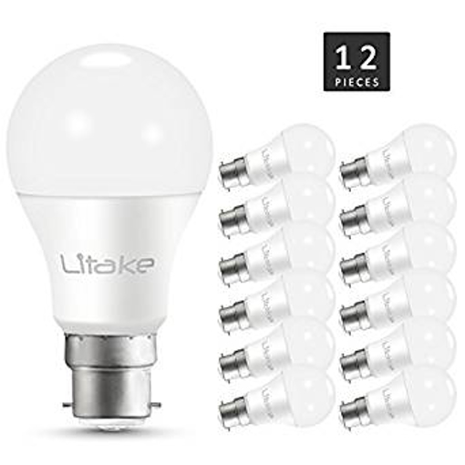 Picture of Litake B22 LED Bayonet Light Bulbs - 100 Watt Equivalent - A