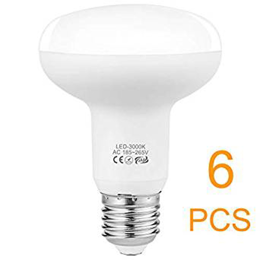 Picture of E27 LED Dimmable - 9W R80 LED Bulb(75W) - 3000K Soft White 1