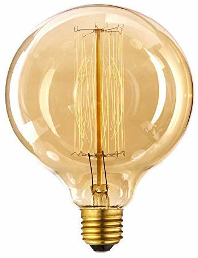 Picture of Vintage Edison Light Bulb 60w - Old Fashioned Filament Bulbs