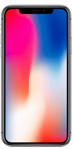 Picture of Apple iPhone X 64GB Space Grey - Used Good (Grade B)