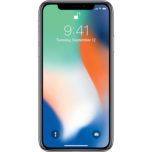 Picture of Apple iPhone X 64GB Silver - Used Good (Grade B)