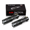 Picture of Pack of 2 Small LED Torches - LETMY 300 Lumens Super Bright Mini Torch Flashlight with 3 Modes and Adjustable Focus for Camping - Hiking - Gift