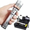 Picture of Lsatxe LED Torch 1300 lm Real SHIXE G700 CREE XML L2 LED Tactical Zoomable Torch Military Torch AAA 18650 Outdoor Camping Hiking