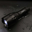 Picture of ICEFIRE V5 Tactical LED Torch Pocket -Super Bright Cree XML2 T6 Adjustable Focus Super Bright Flashlight -5 Lighting Modes -Zoomable -Water Resistant Handheld Light