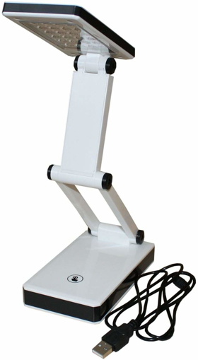Picture of Foxy LED 407267 Desk lamp 24 LED Battery or USB Powered with 3 Brightness Levels