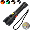 Picture of LED Torch with Red Green White Yellow Light - BESTSUN 4 Colors in 1 Multiple Color Flashlight Road Signal Torch for Astronomy Night Vision - Fishing - Camping