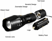 Picture of UltraFire IR Illuminator Torch 850nm IR Led Flashlight Focus Adjustablenfrared Light Torch for Night Vision - Coyote Hog Predator Hunting