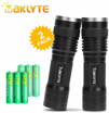 Picture of Waklyte 2 Pack Tactical Torch - S04D LED Torch - High Lumen - Super Bright - Military Grade Handheld Flashlight for Hiking - Camping - Travel - Emergency and EDC (Battery Included)