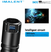 Picture of IMALENT DM70 Rechargeable Torch with Cree XHP70 2.0 LED Output of up to 4500 lumens and Powerful Compact lamp
