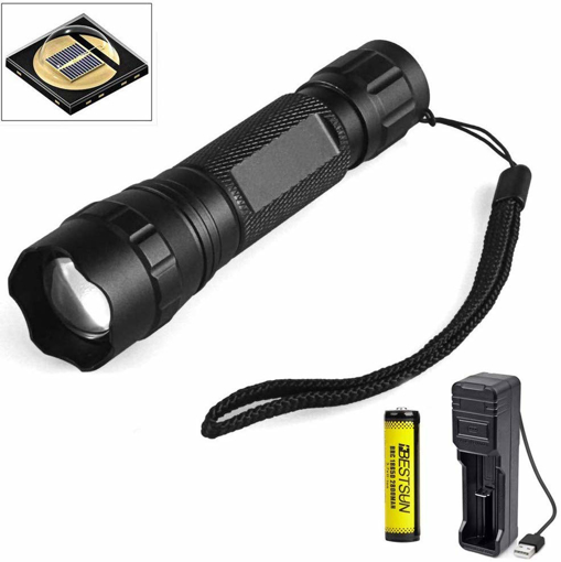 Picture of IR Totch - LUXJUMPER 940nm IR Illuminator Infrared Light Night Vision Flashlight Zoomable LED Torch for Hunting Coyote Hog Predator Thermal Pig Fox Rat
