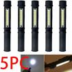 Picture of Garberiel COB LED Work Flashlight with Magnetic Base Multi-Function Pen Light Inspection Work Light