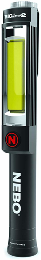 Picture of Nebo NB6737 Big Larry 2-COB 500 Lumen Worklight Flashlight with Red Emergency Signal Mode - Black