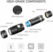 Picture of [Rechargeable LED Torch] Super Bright LED Flashlight for Camping - Hiking - Fishing(18650 Battery Included)