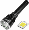 Picture of Super Bright LED Torch PFSN TCP50 Powerful Flashlight with 6000 Lumen P50 LED Rechargeable Tactical Torch Handheld Searchlight Best for Hiking Hunting Camping Outdoor Sport