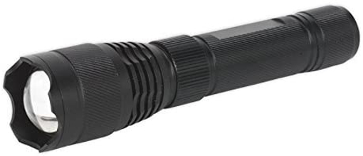 Picture of Sealey LED449 Aluminium Torch 10W T6 CREE LED Adjustable Focus Rechargeable with USB Port