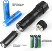 Picture of UltraFire WF-502A LED Torch 5-Modes AAA Torch Bright 1000 Lumens Hunting Flashlights