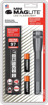 Picture of Maglite SP2209H Mini Maglite 2AA Multimode LED Torch 17 cm with Max. 31 Hours Battery Life Incl. 2 AA Batteries and Nylon Holster Titanium-Grey
