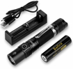 Picture of Sofirn LED Torch - SP31 V2.0 Tactical Flashlight 1200 Lumen with Powerful XPL HI LED - Rechargeable Battery and Charging Slot