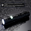 Picture of Supfire Tactical Flashlight Water-Proof Torch Super Bright 300 Lumens Cree LED with 18650 Battery Included -Rechargeable with USB Directly -5 Modes for Camping Hiking Cycling -Model A5
