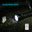 Picture of Olight Max 3200 Lumens R50 PRO Seeker Rechargeable Side-switch LED Torch Flashlight with Cree XHP70 LED - Holster - 4500mAh 26650 Battery - USB Magnetic Charging Cable