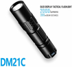 Picture of IMALENT DM21C Mini LED Powerful Torches 2000LM IPX-8 Waterproof with a Multi-Function Display Glare LED Tactical Flashlight 1.5 Meters Anti-Drop Ability