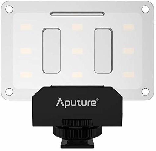 Picture of Aputure AL-M9 Mini LED Light for Video Filming and Macro Photography - Black