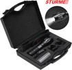 Picture of STURME LED Torch Powerful Super Bright High Lumens 1000 Feet Bright Distance Adjustable Focus LED Flashlight with 5 Modes IP65 Water-Resistant Outdoor Torch Perfect for Camping Outdoor Sports Home Use