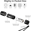 Picture of LE Torch - Super Bright LED Torch - Handheld Small Flashlight - Pocket Size - Waterproof IP65 - Battery Powered - 6 AAA Batteries Included - Pack of 2