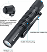 Picture of Olight Penlight Torch i3T - Flashlight Pen Torch - Super Small Mini AAA - 180 Lumen Brightness Eeveryday Pocket Carry Outdoor Gear for Hiking -Camping -Joging - Maitenance
