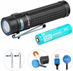 Picture of Olight S2R II Rechargeable LED Flashlight Powerful 1150 Lumens Pocket Handheld Torches for Camping Exploring Hiking Dog Walking