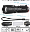 Picture of 2 in 1 LED Torch Super Bright 900 Lumen Black Light UV 395nm BlacklightHandheld Flashlight Adjustable Focus 4 Modes Waterproof Pocket Torch for Camping Outdoor